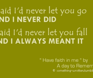 adtr and have faith in me image