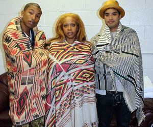 erykah badu, pharrell, and the neptunes image