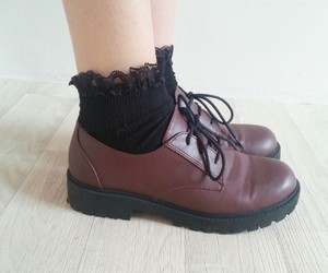 dr martens, shoes, and winter image