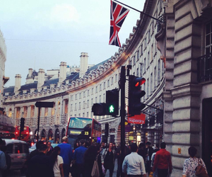 london, Oxford street, and england image