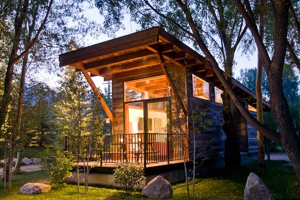 Architecture. Welcoming Modern Cabin Design: Outstanding ...