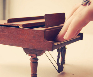 piano and cute image