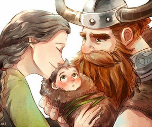 family and hiccup image
