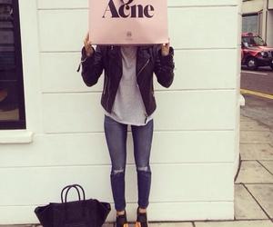 fashion, acne, and celine image