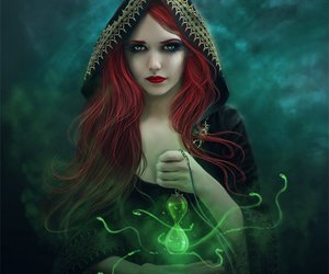 fantasy, magic, and witch image