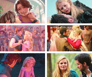once upon a time, x, and rapunzel and flynn image