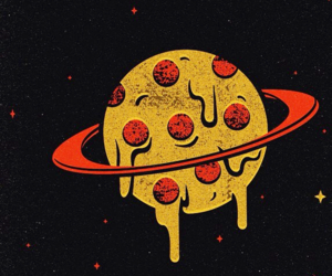 pizza and planet image