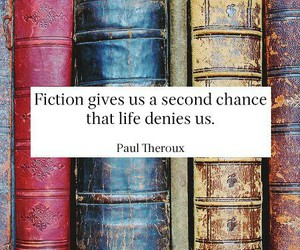 book, fiction, and quote image