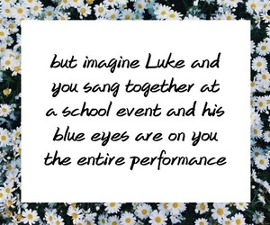 imagine, luke hemmings, and 5 seconds of summer image