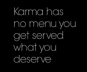 quote, karma, and tumblr image