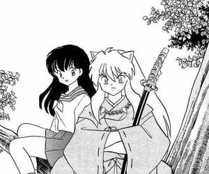 inuyasha, anime, and manga image