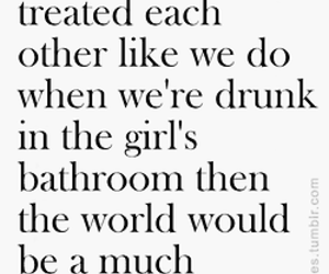 girl, drunk, and quote image