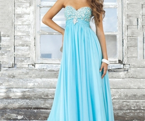 dress, party, and prom dresses image