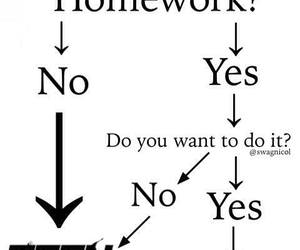 teen wolf, homework, and funny image