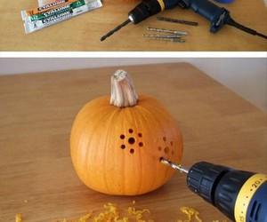pumpkin, diy, and Halloween image