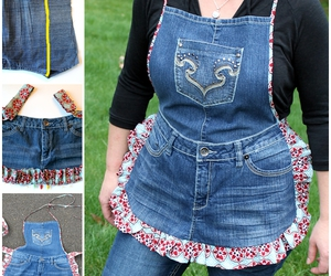 apron, crafts, and diy image