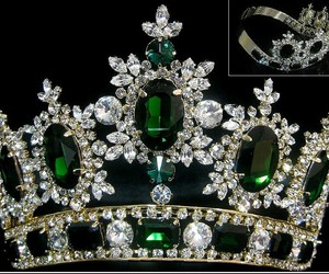 crown, pretty, and royalty image
