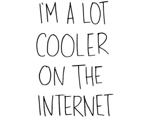 cool, internet, and quote image