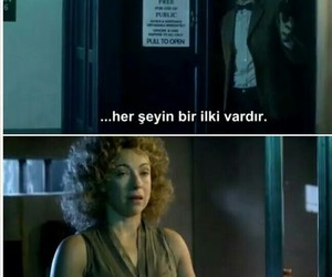 doctor who, tardis, and river song image