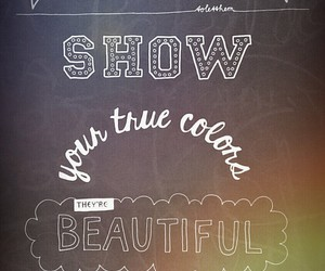 be yourself, chalk, and diy image