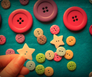 beautiful, buttons, and crafty image