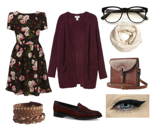 clothes, makeup, and fashion image