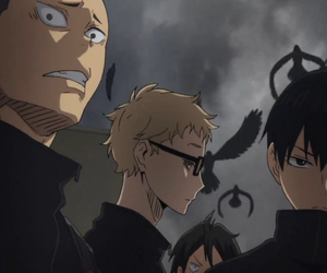 anime, raven, and laughs image