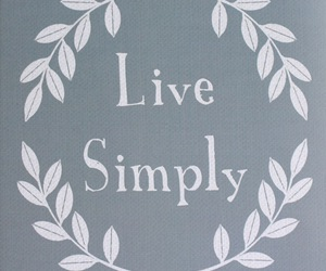 live, quote, and simply image