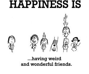 friends, love, and happiness image