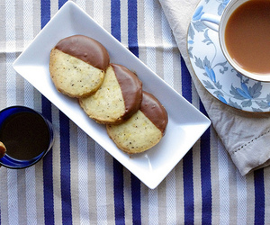 chocolate, coffee, and cookie image