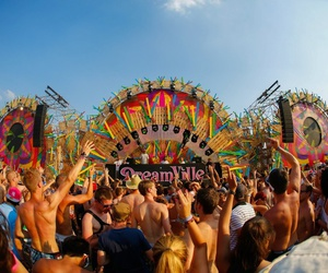 Tomorrowland, dreamville, and party image