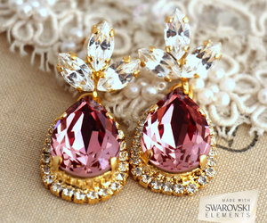 bridesmaids, earrings, and gift image