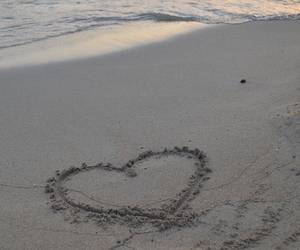 beach, mallorca, and love image