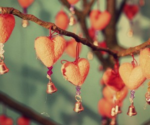 christmas, hearts, and lovely image
