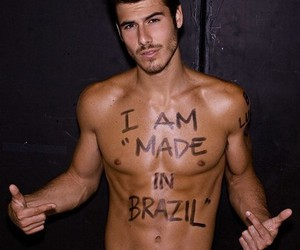 brazil, guy, and Hot image