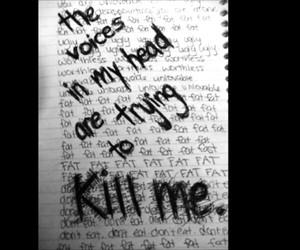 depression, voice, and kill image