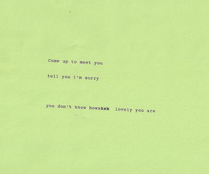 art, lovely, and Lyrics image