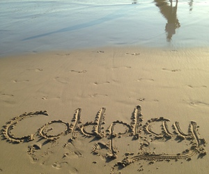 beach, coldplay, and paradise image