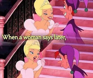 woman, funny, and disney image