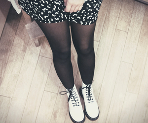 70's, black, and dress image
