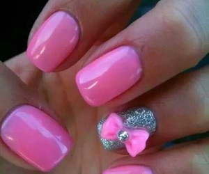 bow, nails, and silver image
