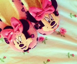 girly, pink, and slippers image