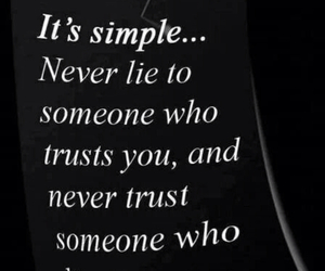 lies, quote, and trust image