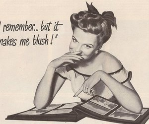 vintage, retro, and Pin Up image