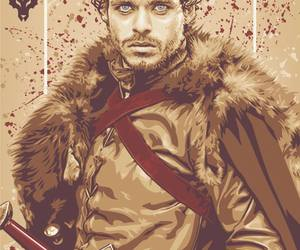 game of thrones, robb stark, and richard madden image