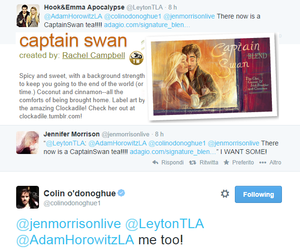 captain swan and colifer image
