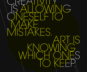 quote, art, and creativity image