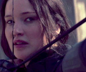 pretty, the hunger games, and katniss image