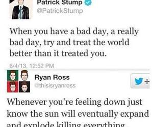 fall out boy, patrick stump, and ryan ross image
