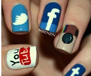 nails, facebook, and instagram image